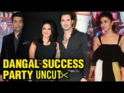 Sunny Leone, Alia Bhatt, Karan Johar Celebrate Dan