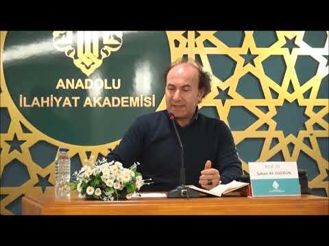 Prof. Dr. Şaban Ali DÜZGÜN / Cumartesi Konferansları - III / DİN, ARAÇSALLIK ve HAKİKAT ARAYIŞI