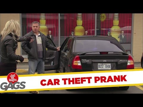 Stealing Their Own Cars Prank - Youtube