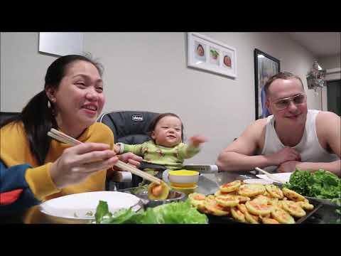Vlog 401 ll Chồng Mỹ Lần Đầu Ăn Bánh Khọt Miền Tây, Bà 2 Lâu Lâu Đổ Bánh Khọt Và Cái Kết - Thời lượng: 18:30.