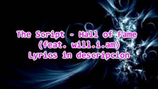 The Script - Hall of Fame (feat. will.i.am) Lyrics