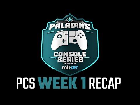 Paladins Console Series Recap - Presented by Mixer (видео)