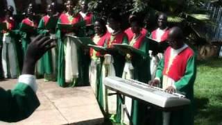 Katonda Wange Omwagalwa by St. Cecilia Lubaga Cathedral Choir Kampala, Uganda - East Africa