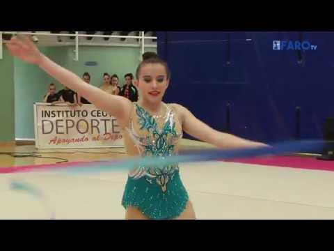 Club La Higuerita en el Torneo de Gimnasia Rítmica de Ceuta