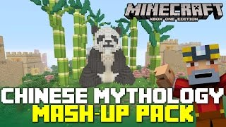 Minecraft Xbox 360/One: Chinese Mythology Mash-Up Pack Review + Giveaway!