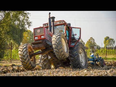 "ITALIAN LEGENDS | 4x Fiatagri 180-90 DT + 1880 | POWER SOUND | ""La Grande Moisson"" Ploughing Edition"