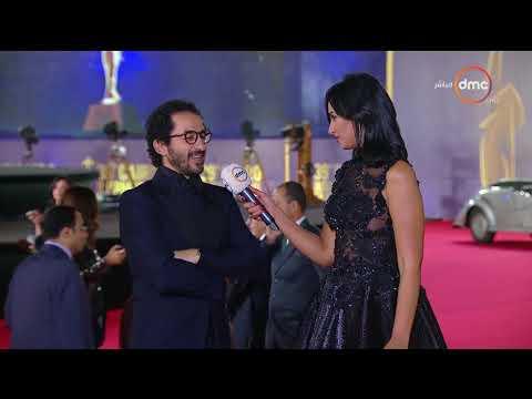 أحمد حلمي يتردد في توجيه رسالة لشادية في افتتاح القاهرة السينمائي