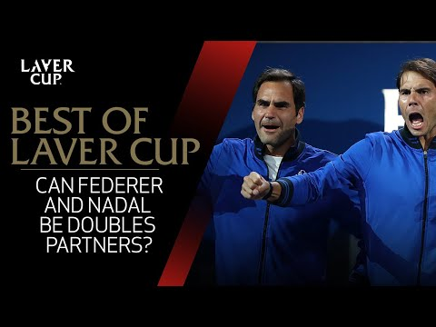 Will Federer and Nadal work as a doubles team? | Laver Cup 2017 (видео)