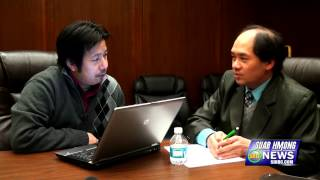 Suab Hmong News: Exclusive Interview NengWa Vang, New President of Lao Family Community Minnesota