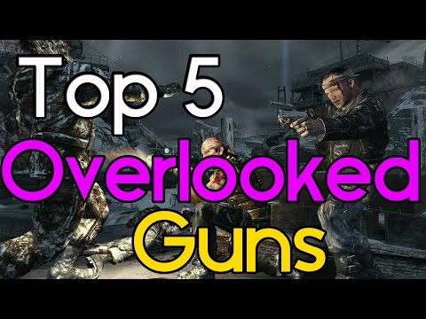 """""""Top 5″ Overlooked Guns in """"Call of Duty Zombies"""" """"Black Ops 2 Zombies"""" """"BO1 & WAW Zombies"""""""