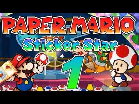 Let's Play Paper Mario Sticker Star Part 1: Unheil auf dem Sticker-Festival
