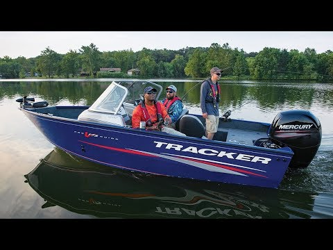 TRACKER Boats: 2018 Pro Guide V-175 WT Deep V Fishing Boat