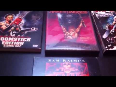 Army of Darkness DVD Collection comparison review