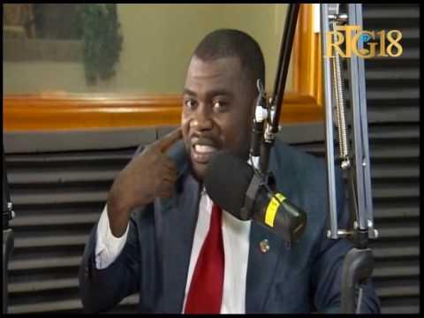Clauvy Robas, le Député des Cayes / Ile-à-Vache intervient à l'émission Dil Janl Ye.