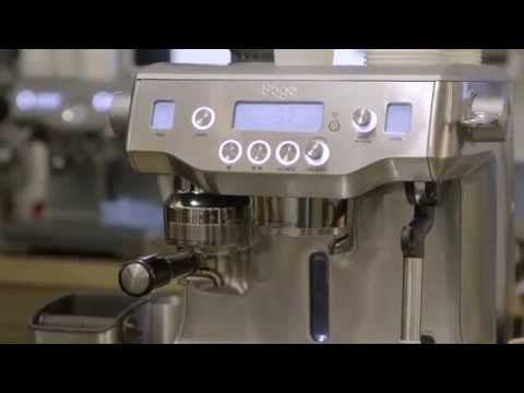 the Oracle Espresso Machine by Sage Appliances
