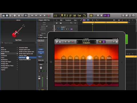Logic Pro X Software Instruments with iPad
