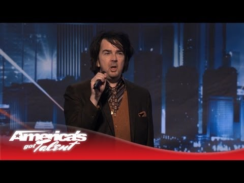 Kevin Downey Jr. - Comedian Who Looks Like He Has to Pee - America's Got Talent 2013