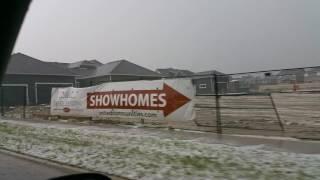 Okotoks (AB) Canada  City new picture : Okotoks, AB Canada hail storm - 28 June 2016