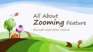 Nonton How to Use Zoom Feature in Microsoft Word 2016 Tutorial   The Teacher Film Subtitle Indonesia Streaming Movie Download