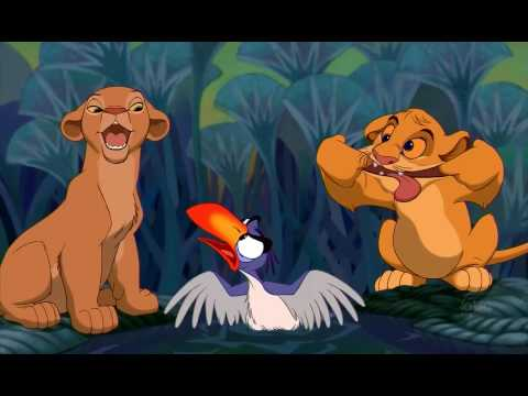 The Lion King Just can't wait to be king HD (видео)