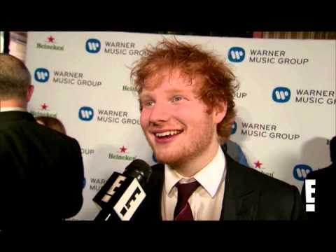 Ed Sheeran - Drunk interview GRAMMYs One 26/01/13