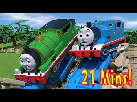 TOMICA Thomas and Friends: Animation CRASH Compilation!