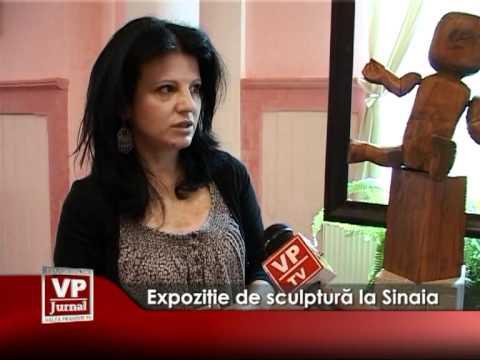 Expoziţie de sculptură la Sinaia