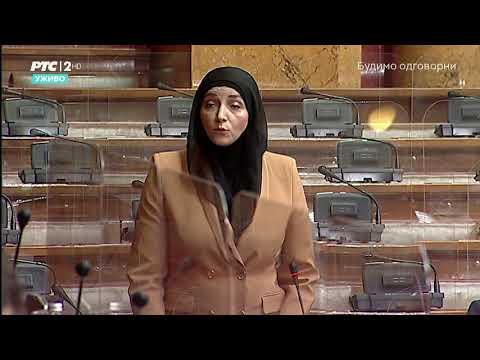 Obraćanje u Skupštini 21. 04. 2021. g. – Narodna poslanica SPP-a dr. Misala Pramenković