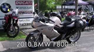 9. Pre-Owned 2010 BMW F800 ST in Champagne at Euro Cycles of Tampa Bay