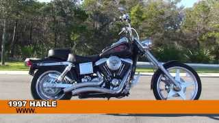 9. 1997 Harley Davidson Dyna Wide Glide  - Used Motorcycle for sale
