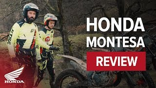 8. Honda Trials Bike overview with Inch perfect