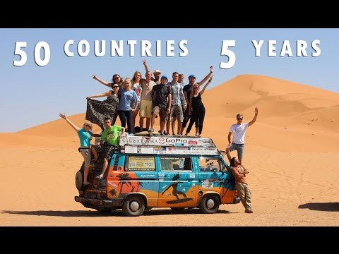 Bus Around The World – 50 countries in 5 years
