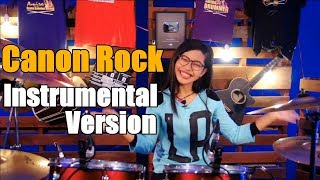 Canon Rock (Instrumental Version) - Drum Cover by Nur Amira Syahira