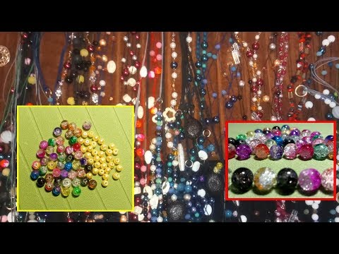 Various Beads for Handmade Jewerly - Χειροποίητα κοσμήματα με χάντρες (by Eirini Kini)
