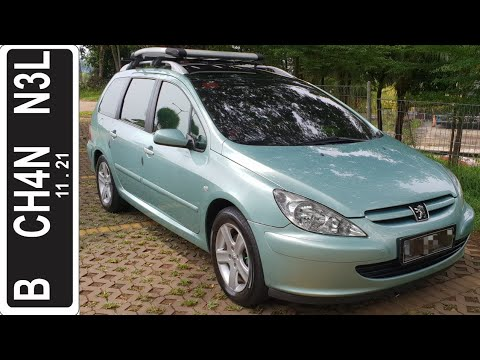 In Depth Tour Peugeot 307 SW (2004) - Indonesia
