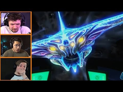 Let's Players Reaction To The Dead Zone | Subnautica
