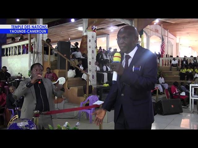 prédication n° 001 du prophète Yetna Michel père spirituel du Dr Tsala Essomba au Temple des Nations
