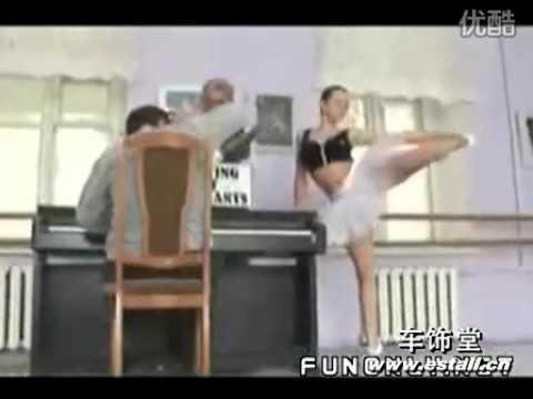 性感的舞蹈老師惡整鋼琴老師,鋼琴老師會受不了阿~