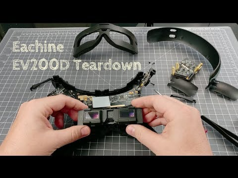 Eachine EV200D Teardown