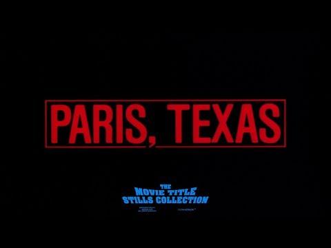 Paris, Texas (1984) title sequence