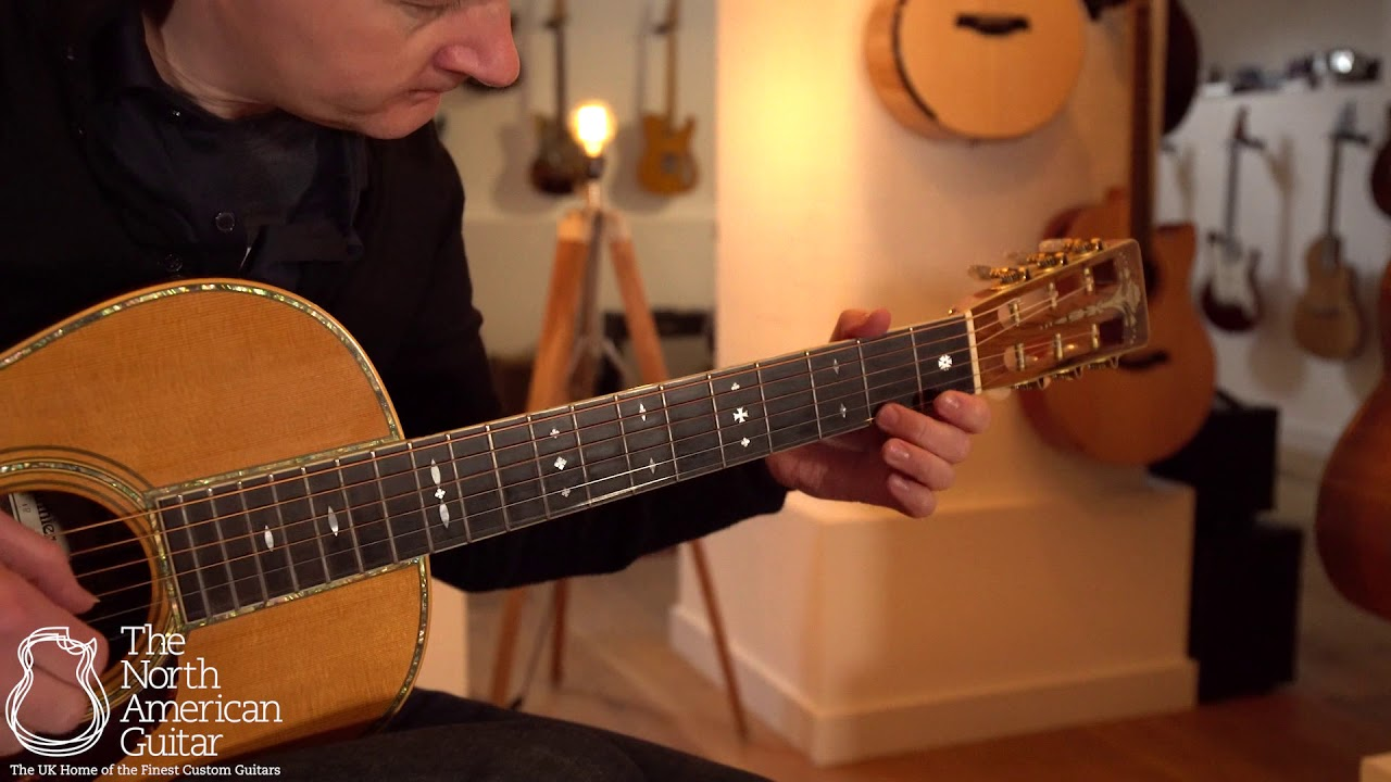 Bown Parlour Acoustic Guitar Played By Stuart Ryan (Part One)