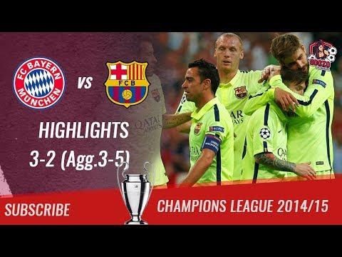 🏆 2014/15 - UCL Semifinal 2nd Leg 🏆 Bayern München vs FC Barcelona 3-2 (Agg.3-5)| HD