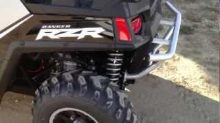10. 2012 RZR 800 LE Black/Silver