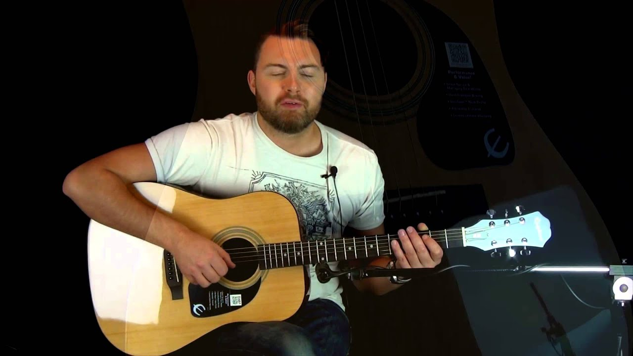 Epiphone DR-100 Beginners Acoustic Guitar Review