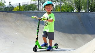 INSANE 1 YEAR OLD SCOOTER TRICKS!