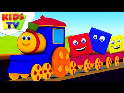 Preschool Learning Videos | Bob The Train | Cartoon Videos  For Children - Kids TV