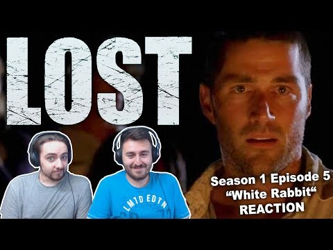 "LOST Season 1 Episode 5 ""White Rabbit"" REACTION"
