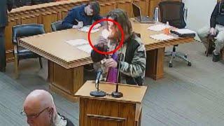 Ziomek zajarał jointa w sądzie podczas rozprawy z zarzutami o posiadanie :D