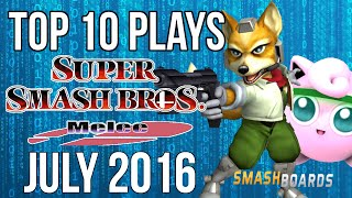 Super Smash Bros Melee Top 10 Plays of July 2016