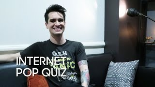 Video Internet Pop Quiz with Brendon Urie (Panic! At the Disco) MP3, 3GP, MP4, WEBM, AVI, FLV Juli 2018